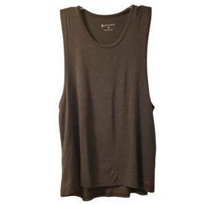 Pure Barre Charcoal Gray Muscle Athletic Tank Top
